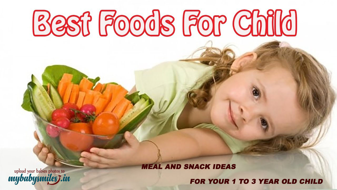 Best foods for children