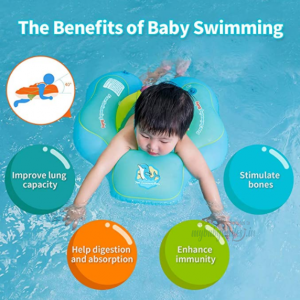 Baby Neck Float Safe - Baby Swim Float Children Waist Ring